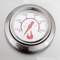 Lid-Mounted Temperature Gauge